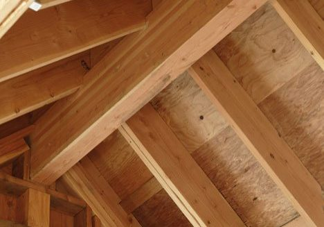 timber roof ceiling